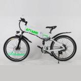 Bicyclette électrique pliante pour homme City Cruiser à moteur à batterie cachée pour homme