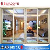 Portelli scorrevoli di alluminio resistenti di buoni prezzi con quattro vetri
