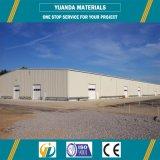Viga laminada en caliente del acero estructural H, fábrica de la estructura de acero, almacén