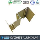 Profil en aluminium en aluminium d'OEM pour le guichet et la couleur personnalisée par porte