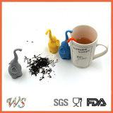 Setaccio del tè del commestibile del filtrante del tè di Infuser del tè del silicone dell'elefante Ws-If054