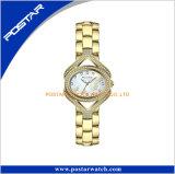 La plus défunte montre-bracelet de femmes de Rhinestones de diamant de modèle
