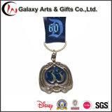 Médaille personnalisée de lanière en métal