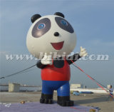 屋外の使用K2091のために膨脹可能なパンダの漫画の気球を広告するジャイアント
