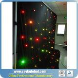 Cortina de gota da estrela da cortina da estrela do diodo emissor de luz da alta qualidade para a venda
