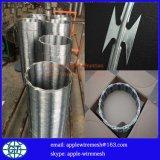 Des barbelés pour barrière de sécurité- fil de base en acier au carbone élevé
