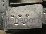 332-C4390合金鋼鉄掘削機のバケツの歯の炭素鋼の側面のカッター