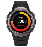 Telefone móvel do relógio 3G esperto do Android 5.1 com frequência cardíaca do GPS
