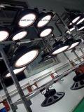 Luz do diodo emissor de luz Highbay do UFO, luz industrial do diodo emissor de luz para a iluminação da fábrica