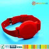 Zugriffssteuerung-teure kontaktlose FlauschRFID Wristband-Marke