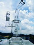 Venda por atacado de Hbking 17 polegadas - tubulação de água de vidro de fumo da cor alta
