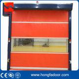 Промышленная дверь штарки завальцовки PVC высокоскоростная (HF-68)
