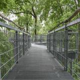 Практически и конкретная загородка стальной штанги Grating