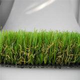 Hierba artificial decorativa ULTRAVIOLETA anti de calidad superior, ajardinando la hierba (L40)