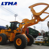 좋은 품질 15 톤 바퀴 로그 로더 트럭