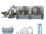 小さいびんの満ちるペットボトルウォーターのプラントを飲む自動鉱物
