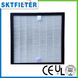 H13 filtro de papel del marco HEPA para el aire acondicionado central