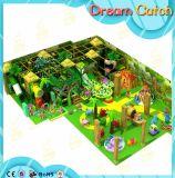 Campo de jogos interno das crianças engraçadas inclusivas Challenging da alta qualidade com corrediça
