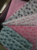 Tissu non-tissé estampé de Spunbond pour le sac à provisions