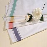 卸し売り高品質の100%年の綿の縞のホテルのレストランの台所タオル
