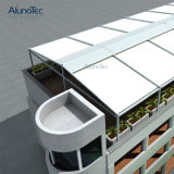 PVC 철회 가능한 Pergola 지붕 시스템 차일