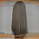 Parrucca superiore di seta di vendita superiore delle donne dei capelli di Remy del grado di colore puro di 100% (PPG-l-0871)
