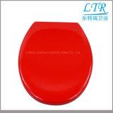 Europäisches Badezimmer Duroplast roter Toiletten-Sitz