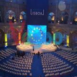 Visualizzazione di LED locativa di alta qualità dell'interno P3 1/16scan