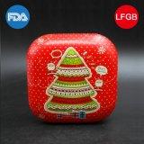 차 또는 초콜렛 또는 사탕 또는 장난감 또는 차 (S001-V10)를 위한 큰 정연한 주석 상자