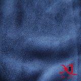 Poliester tejido una tela lateral del ante para la ropa/el sofá