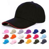 Выдвиженческая пустая черная бейсбольная кепка Snapback (A921)