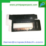 Van de douane Vakje van de Halsband van de Armband van de Gift van het Document van het pvc- Venster het Verpakkende