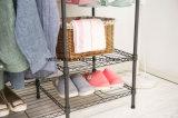 Дешевый шкаф одежды шкафа металла холстины для спальни одевает хранение