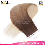 Full-cutícula Virgin Remy Seamless Skin Weft Tape Hair Extension