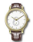 Het Grootmoedige Eenvoudige Waterdichte Horloge van vier van Kleuren Riemen van het Leer