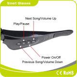 Occhiali da sole astuti di musica e di sport di Bluetooth V4.1 con il blocco per grafici multicolore