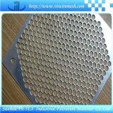 Rete metallica del foro di perforazione utilizzata in macchina