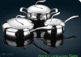 201および410材料の流行のステンレス鋼の在庫の鍋