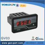 Digital-Spannungs-Messinstrument-Lieferant des Generator-Gv03
