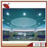 Wholesale Powder Coating Wood Cover PVDF Coated Aluminum Grill Ceiling clouded