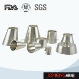 Acero inoxidable de grado alimenticio soldada reductor de tubo de montaje (JN-FT5006)