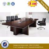 現代デザインメラミンオフィスの会議の会合の机(HX-FLD013)