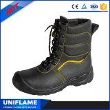 Высокий ботинок безопасности Sbp отрезока с хлопком Ufa021