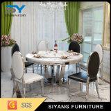 Mesa redonda de jantar de mobiliário de hotel