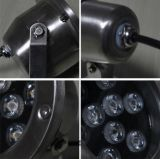 屋外IP68 12/24Vカラー変更5W LED水中ライト