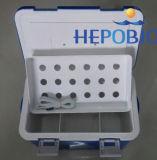 10L casella Vaccine del dispositivo di raffreddamento dell'acciaio inossidabile 2-8 di grado della cinghia accatastabile della spalla