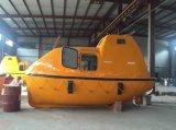 5.0M 16personas totalmente cerrado Barco Barco de rescate de la vida de fibra de vidrio