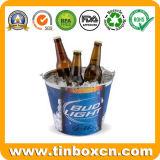 Benne del metallo del ghiaccio del barilotto dello stagno per il secchio della birra dello stagno