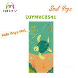 Estera antideslizante de la yoga de los cabritos con la estera ultra gruesa del juego de la impresión 5m m de la imagen de la tortuga