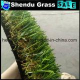 庭の人工的な草水Draingeの穴との25mm